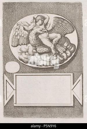 N/A. Grafik aus dem Klebeband Nr.13 der Fürstlich Waldeckschen Hofbibliothek Arolsen Motiv: . between 1600 and 1800. Unknown 137 Arolsen Klebeband 13 149 - Stock Photo