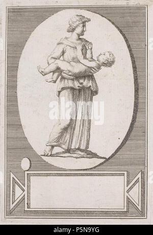 N/A. Grafik aus dem Klebeband Nr.13 der Fürstlich Waldeckschen Hofbibliothek Arolsen Motiv: . between 1600 and 1800. Unknown 137 Arolsen Klebeband 13 155 - Stock Photo
