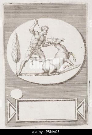 N/A. Grafik aus dem Klebeband Nr.13 der Fürstlich Waldeckschen Hofbibliothek Arolsen Motiv: . between 1600 and 1800. Unknown 137 Arolsen Klebeband 13 158 - Stock Photo
