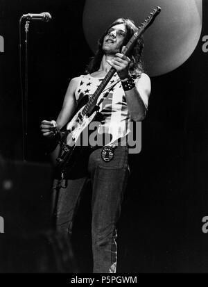 alan jones, blackfoot sue, top of the pop, 70s - Stock Photo