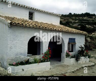 Casas de campo con porche latest casa campo iznate casa - Casa rural iznate ...