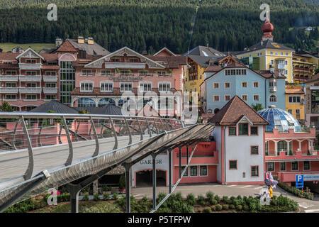 Ortisei, Dolomites, Trentino, Alto Adige, Italy, Europe - Stock Photo