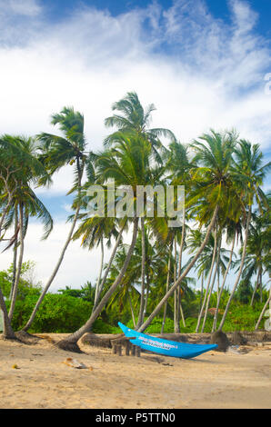 Tangalle beach, Sri Lanka - Stock Photo