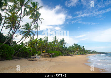 Tangalla beach, Sri Lanka - Stock Photo
