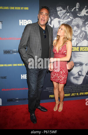 Hollywood, USA. 27th June, 2018. Brad Garrett and Isabella Quella at the LA Premiere of HBO's Robin Williams: Come Inside My Mind at the TCL Chinese Theatre in Hollywood, California on June 27, 2018. Credit: Faye Sadou/Media Punch/Alamy Live News - Stock Photo