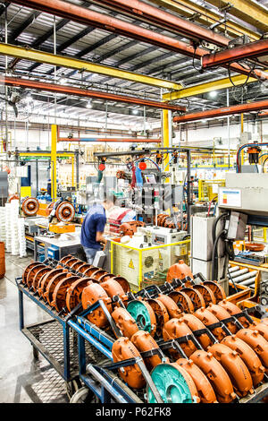 Manufacturing industrial plant in southern Brazil. - Stock Photo