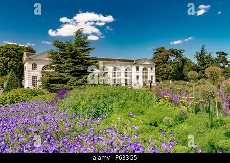 The Orangery At The Royal Botanic Gardens, Kew - Stock Photo