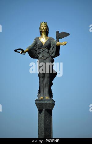 Statue of Sveta Sofia - Stock Photo