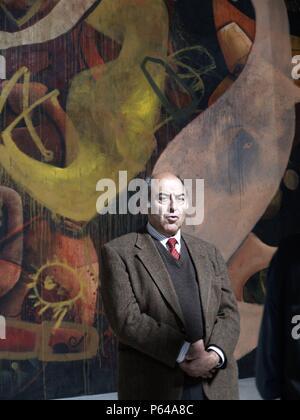 JOSE ANTONIO MARINA EN LA PRESENTACION DEL LIBRO DE LAS PINTURAS DE ALARCON. - Stock Photo