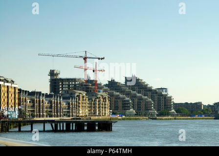 Cabot Place Canary Wharf, Docklands, London, UK - Stock Photo