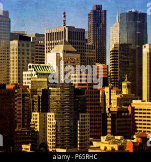 San Francisco, California, USA (painterly) - Stock Photo