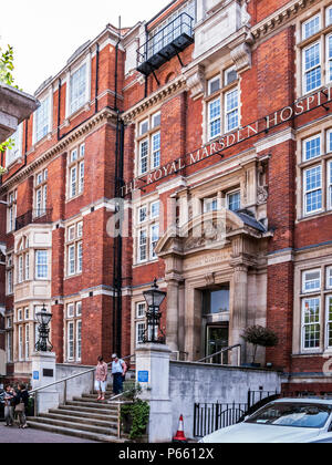 The Royal Marsden Hospital, Chelsea, London - Stock Photo