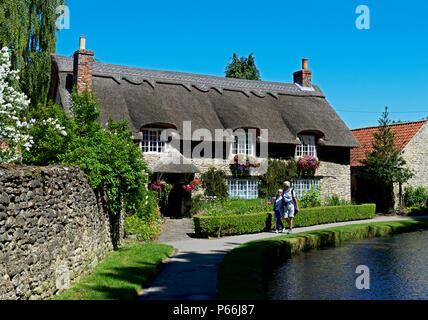 Thornton-le-Dale, North Yorkshire, England UK - Stock Photo
