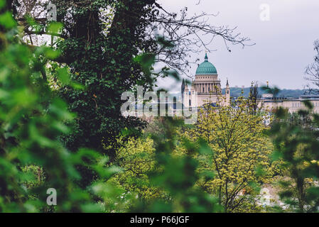 St. Nicholas' Church Dome in Potsdam - Stock Photo
