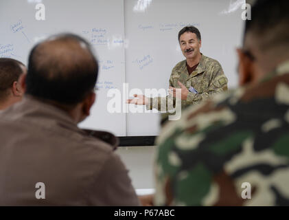 160525-N-GI544-100 PANCHKHAL, Nepal (May 25, 2016) – Maj. Jim Josephs, assigned to J5-H Joint Operational Health Group, New Zealand Defense Force, speaks during a seminar on force health protection in peacekeeping operations between the U.S., New Zealand, Nepalese and Bangladeshi military medical professionals at the Birendra Peace Operations Training Center in Panchkhal, Nepal.  The seminar was formed to enhance force medicine practices within the U.S. military as well as share and collaborate with partner nations across the Indo-Asia-Pacific region. (U.S. Navy photo by Mass Communication Spe