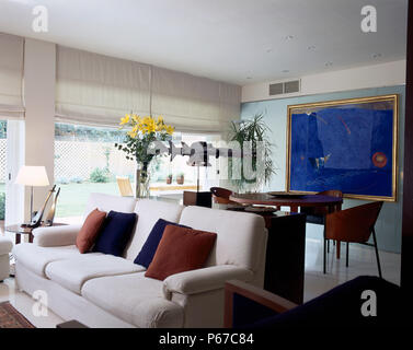 View of a well decor in a living room - Stock Photo