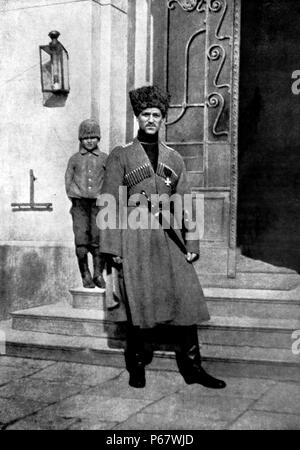 Grand Duke Michael Alexandrovich of Russia 1878 – 13 June 1918) was the youngest son of Emperor Alexander III of Russia. - Stock Photo
