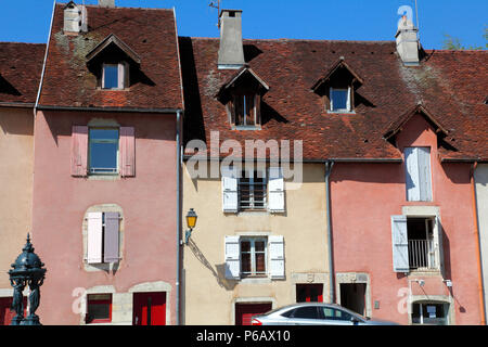 France, Franche Comte, department of Jura (39), Lons-le-Saunier, Comedie square