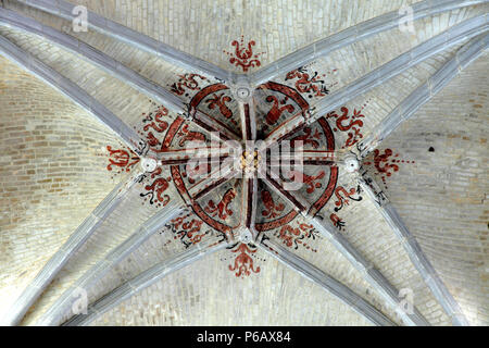 France, Bourgogne Franche Comte region (Burgundy), Yonne department, Auxerre, Saint Pierre church - Stock Photo
