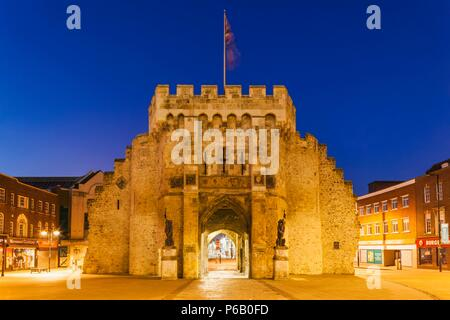 England, Hampshire, Southampton, Bargate - Stock Photo