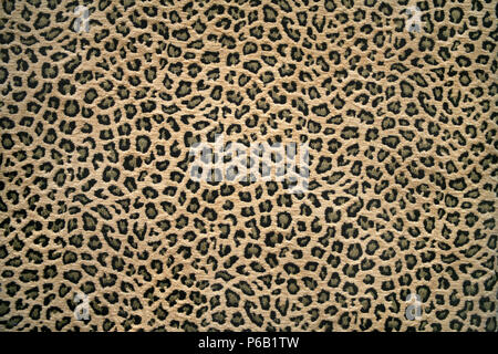 close up shot of a fabric with leopard skin pattern