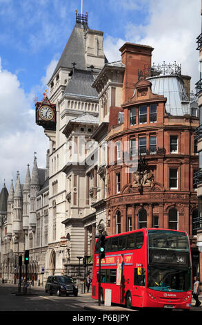 UK, England, London, City, Fleet Street, The Strand,