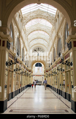 France, Nantes, Passage Pommeraye. - Stock Photo