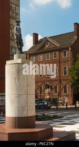 William Penn Welcome Park Philadelphia PA Stock Photo