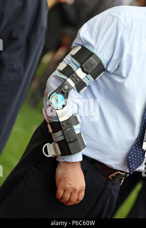 Dubai, elbow orthosis - Stock Photo