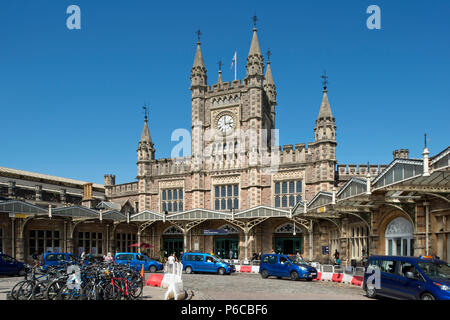 Temple Meads station, Bristol. - Stock Photo