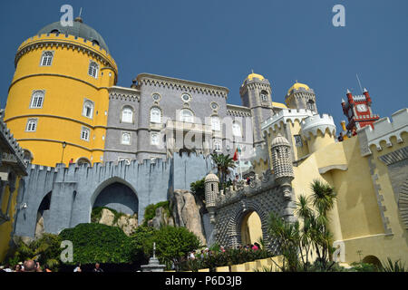 Pena Palace in Sintra - Stock Photo