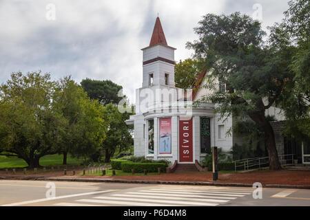 Sivori Museum at Bosques de Palermo (Palermo Woods) - Buenos Aires, Argentina - Stock Photo