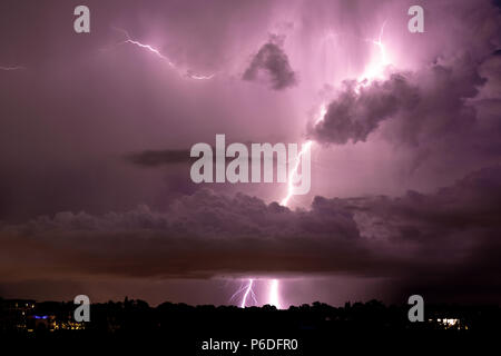 Thunder and Lightning, Gewitter, Blitz