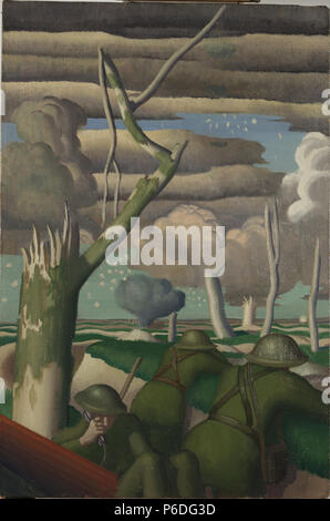 . Observation of Fire  1919 50 Gill, Colin U - Observation of Fire - - Stock Photo
