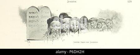 54 Image taken from page 163 of 'Pilgerritt. Bilder aus Palästina und Syrien ... Mit Illustrationen von R. Mainella' (11302048865) - Stock Photo