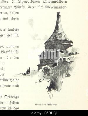 54 Image taken from page 176 of 'Pilgerritt. Bilder aus Palästina und Syrien ... Mit Illustrationen von R. Mainella' (11303724314) Stock Photo