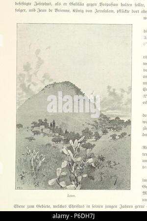 54 Image taken from page 243 of 'Pilgerritt. Bilder aus Palästina und Syrien ... Mit Illustrationen von R. Mainella' (11231367325) - Stock Photo