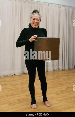 New York, NY, USA. 29th June, 2018. Floriana Frassetto in attendance for MUMMENSCHANZ Debut New Show 'you and me', Pearl Studios, New York, NY June 29, 2018. Credit: Jason Smith/Everett Collection/Alamy Live News - Stock Photo