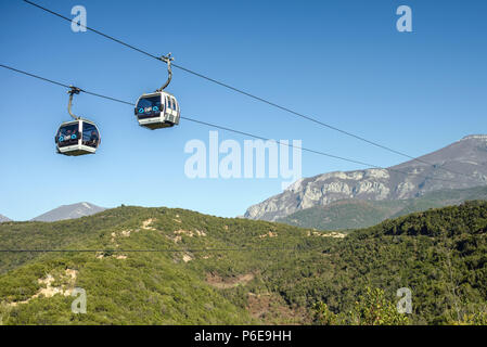 Cable Car in Tirana, Albania - Stock Photo