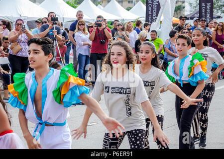 d05627b5b ... Miami Florida Coral Gables Hispanic Cultural Festival Latin American  event dance group dancer performer performing dancing