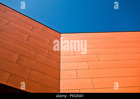 abstract architectural detail of a modern building - Stock Photo