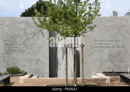Sieger Koder Center and Biblegarden in Rosenberg, Germany - Stock Photo