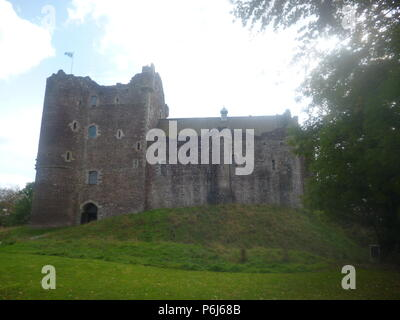 The National Wallace Monument Tower - Stock Photo