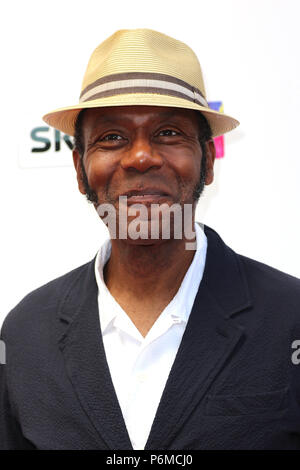 London, UK. 1st July, 2018. Lenny Henry, The South Bank Sky Arts Awards, The Savoy Hotel, London, UK, 01 July 2018, Photo by Richard Goldschmidt Credit: Rich Gold/Alamy Live News - Stock Photo