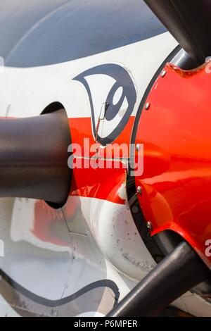 Krila oluje Wings of storm aerobatic group Croatia Croatian HRZ i PZO - Stock Photo