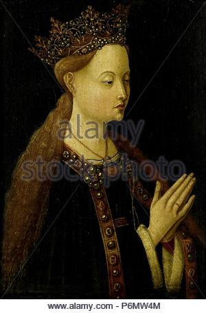 The Virgin, Anonymous, c. 1500. - Stock Photo
