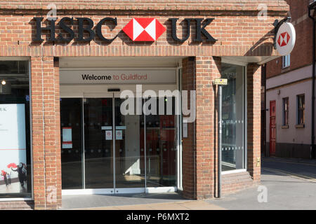 HSBC bank branch in North Sydney city centre, new south ...