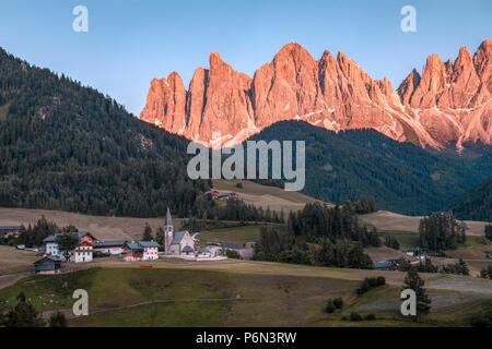 Santa Maddalena, Dolomites, Trentino, Alto Adige, Italy, Europe - Stock Photo