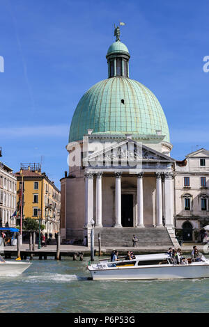 Landmarks on piazza San Marco in Venice, Italy. - Stock Photo
