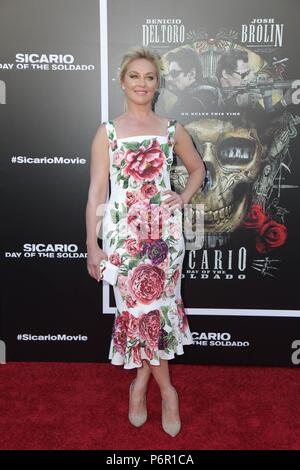 Elisabeth Rohm at arrivals for SICARIO: DAY OF THE SOLDADO Premiere, Regency Village Theatre - Westwood, Los Angeles, CA June 26, 2018. Photo By: Priscilla Grant/Everett Collection - Stock Photo